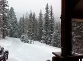 It snowed just in time for a white Christmas.