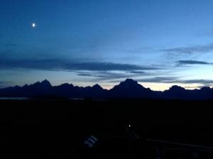Grand Teton Dusk