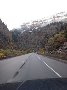 Fall and winter mountains