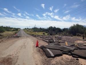 Broken Baja Road