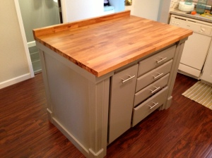 Kitchen Island After