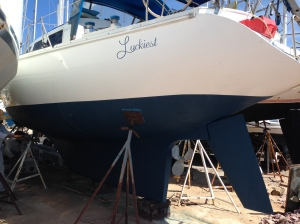 Finished anti-fouling paint
